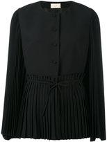 Sara Battaglia pleated blazer