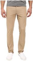 VISSLA Profile Stretch Twill Slim Fit Five-Pocket Pants