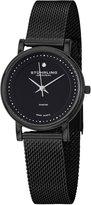 Stuhrling Original Women's 734LM.03 Classic Ascot Casatorra Elite Swiss Quartz Genuine Diamond Mesh Bracelet Watch