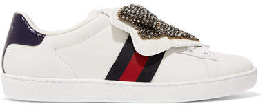 1a237ad3ccb Gucci White Women s Sneakers - ShopStyle