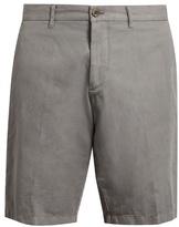 J.w.brine J.W. BRINE Free Donnie cotton and linen-blend chino shorts