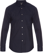 John Varvatos Long-sleeved cotton shirt