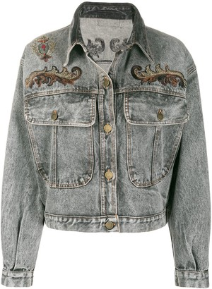 A.N.G.E.L.O. Vintage Cult 1980s Embroidered Denim Jacket