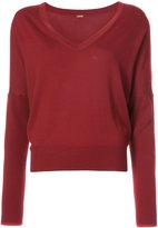 ADAM by Adam Lippes Long sleeve v-neck sweater