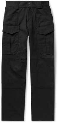 AFFIX Twill Cargo Trousers - Men - Black