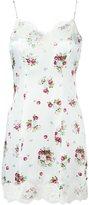 Dondup floral print slip dress