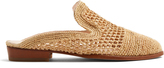 Robert Clergerie Antes woven-raffia slip-on loafers