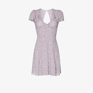 Reformation Kenni floral print mini dress