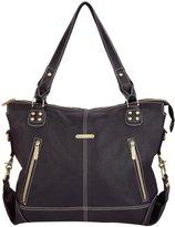 Timi & Leslie Kate 7-Piece Diaper Bag Set - Black Edition