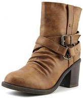 Blowfish Moran Women Round Toe Synthetic Brown Ankle Boot.