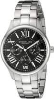 Stuhrling Original Women's 391L.02 Symphony Regent Majestic Quartz Day and Date Dial Bracelet Watch