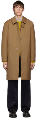 MACKINTOSH Tan Down Dunkeld Coat