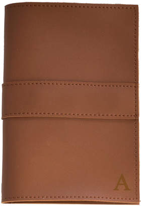 Bey-Berk Bey Berk Brown Leatherette Travel Charger Case & Accessories Pouch