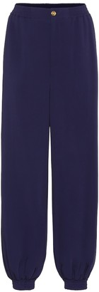 Gucci Wide-leg cady pants