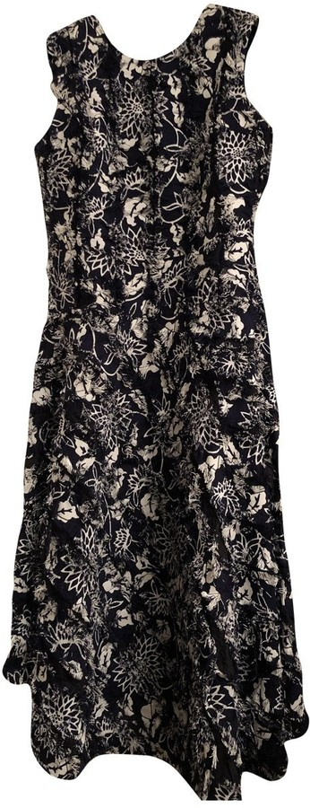 Creatures of the Wind Navy Cotton Dress for Women