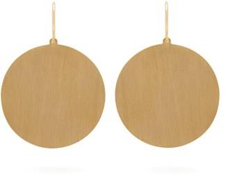 Irene Neuwirth Circle 18kt Gold Earrings - Gold