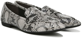 Fergalicious Jemm Snakeskin Embossed Pointed Toe Loafer