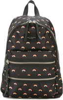 Marc Jacobs Biker backpack - men - Polyester/Calf Leather/PVC - One Size