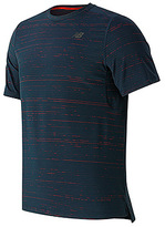 New Balance Men's Max Speed Short Sleeve Top