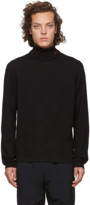 HUGO Black Wool San Thomas Turtleneck