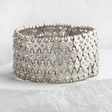 Silver Rhinestone Stretch Bracelet