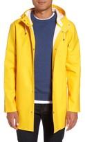 Stutterheim Men's Stockholm Waterproof Hooded Raincoat