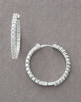 Diamond Hoop Earrings, 1.50 TCW