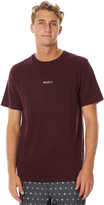 RVCA Mini Mens Tee Red