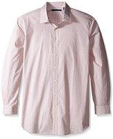 Perry Ellis Men's Big and Tall Paisley Print Shirt