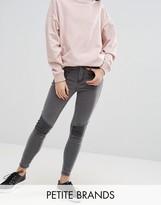 New Look Petite Zip Detail Superskinny Jeans