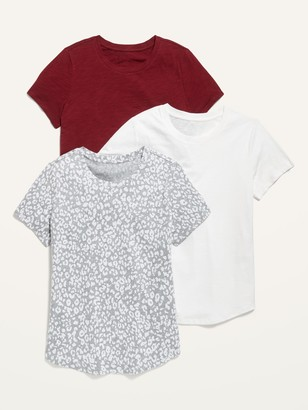 Old Navy EveryWear Crew-Neck Tee 3-Pack for Women