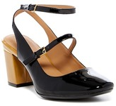 Calvin Klein Clearly Patent Block Heel Pump