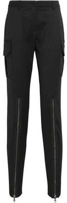 Moschino Wool-blend Twill Skinny Pants