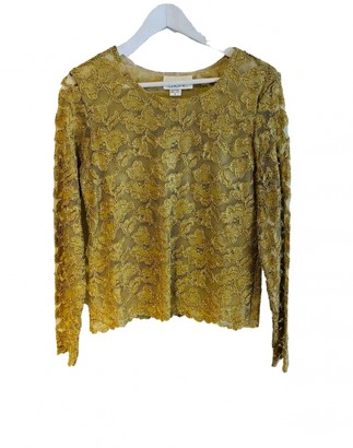 Caché Cache Gold Top for Women