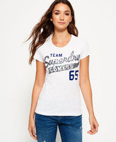 Superdry Sequin Team Comets T-shirt