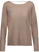 Joie Kerenza Metallic Stretch-Knit Sweater