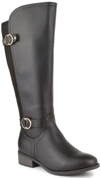 Karen Scott Leandraa Extended Wide-Calf Riding Boots, Created for Macy's Women's Shoes