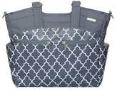JJ Cole Camber Diaper Bag in Stone Arbor