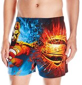 Briefly Stated Men's Superman Cotton Boxers