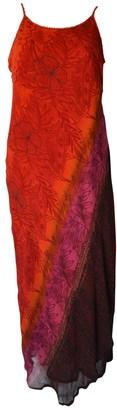 Non Signã© / Unsigned Hippie Chic Red Viscose Dresses