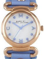 Marc by Marc Jacobs MBM1307 River Purple Leather Womens Watch