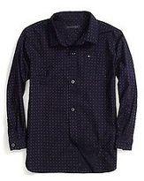 Tommy Hilfiger Little Boy's Microprint Shirt