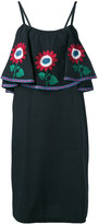 Daft - floral shift dress - women - Cotton - XS