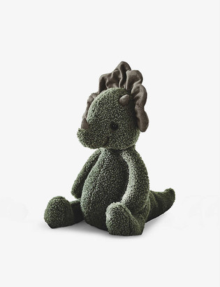The Little White Company Allenby Dinosaur soft toy 25cm