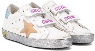 SuperStar glitter-detail trainers