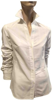 Henry Cotton White Cotton Top for Women