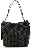 Furla Caos Quilted Medium Drawstring Bag