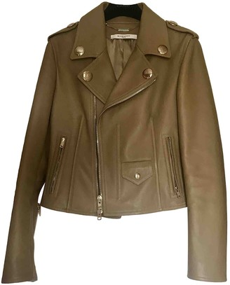 Givenchy Beige Leather Jacket for Women