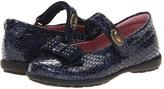 Pablosky Kids 3869 (Toddler/Little Kid) (Navy Croco Patent) - Footwear