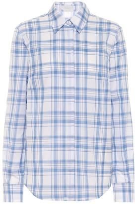 Gabriela Hearst Henri checked cotton shirt